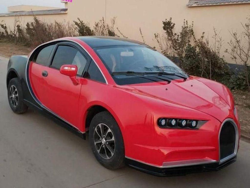 Parah, China Bikin Bugatti Palsu yang Tak Bisa Ngebut