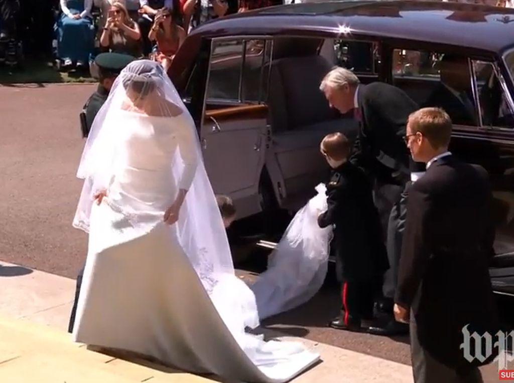 Meghan Markle Jiplak Gaya Gaun Pernikahan Putri Denmark?