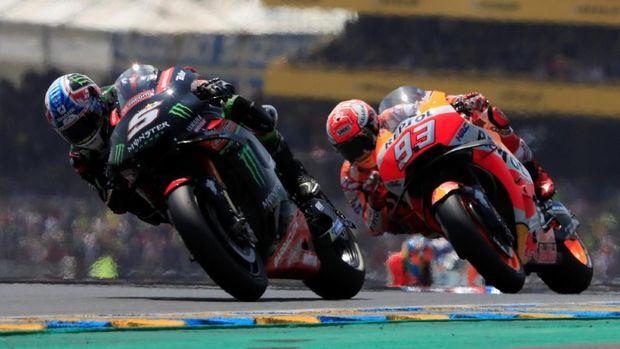 Johann Zarco gagal finis pada balapan MotoGP Prancis.