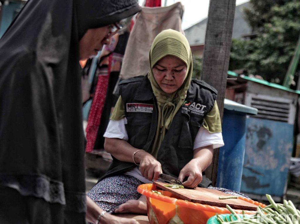 PSBB, 6 Dapur Umum Didirikan di Zona Merah Corona Kabupaten Bekasi