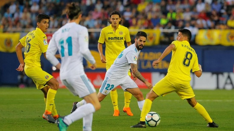 Diimbangi Villarreal, Madrid Finis Ketiga