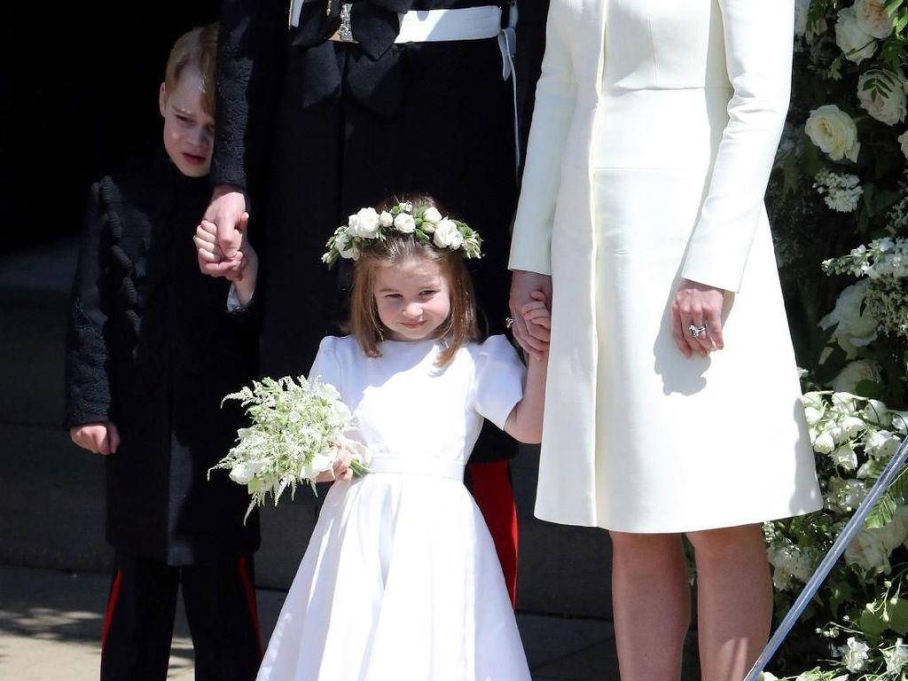 Putri Eugenie Menikah, Anak Kate Middleton Kembali Jadi Pengiring Pengantin
