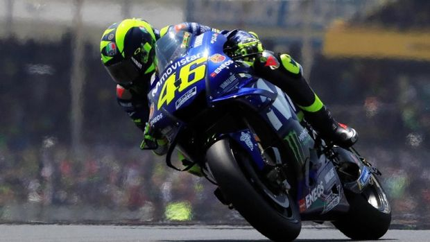 Valentino Rossi merasa motor Yamaha YZR-M1 2018 masih kurang cepat dibandingkan motor tim lain.