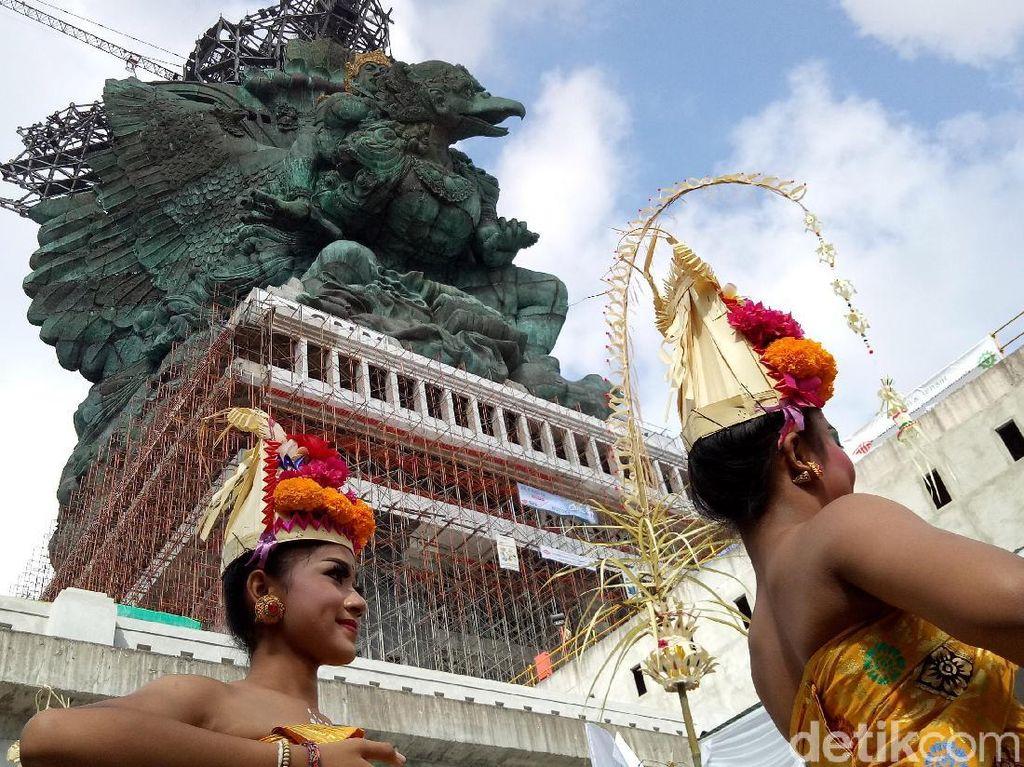 Rampung, Garuda Wisnu Kencana Akan Disambut Pentas Seni