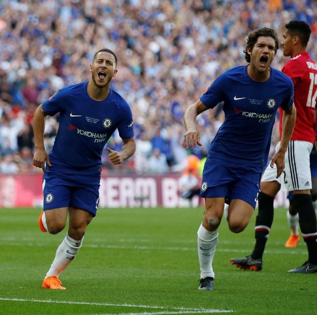 Chelsea Juara Piala FA Usai Kalahkan MU