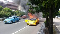Ini Penyebab Mobil Toyota MR2 Spyder Terbakar di Tol Slipi