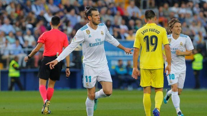 10. Pemain Real Madrid Gareth Bale mampu mengemas 16 gol di liga musim ini (termasuk satu dari tendangan penalti). Jumlah gol yang sama juga dibuat oleh dua pemain lain. (Foto: Heino Kalis/Reuters)