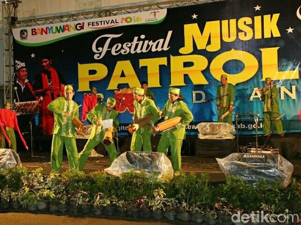 Orkestra asal Jerman akan Meriahkan Festival Patrol di Banyuwangi