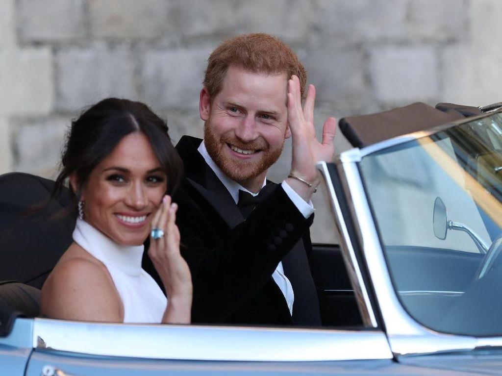 Kemunculan Perdana Pangeran Harry dan Meghan Markle Pasca Nikah