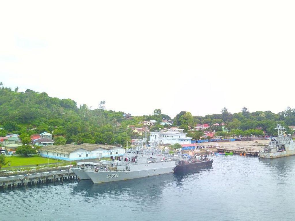 3 Kapal Perang RI Patroli di Perbatasan Aceh