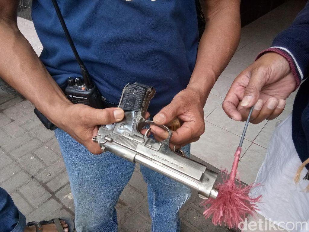 Bak Adegan Film, Pria di Kaltim Coba Rampok Bank Pakai Pistol Mainan