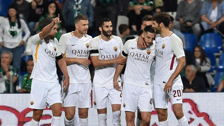 Roma Tutup Musim dengan Mengatasi Sassuolo