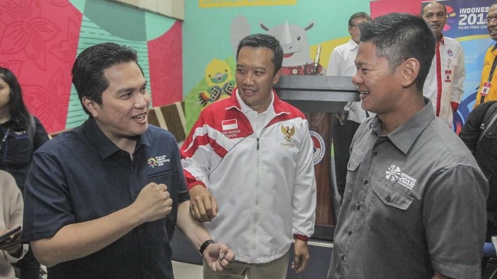 Erick Thohir Optimistis Asian Games Berjalan Lancar