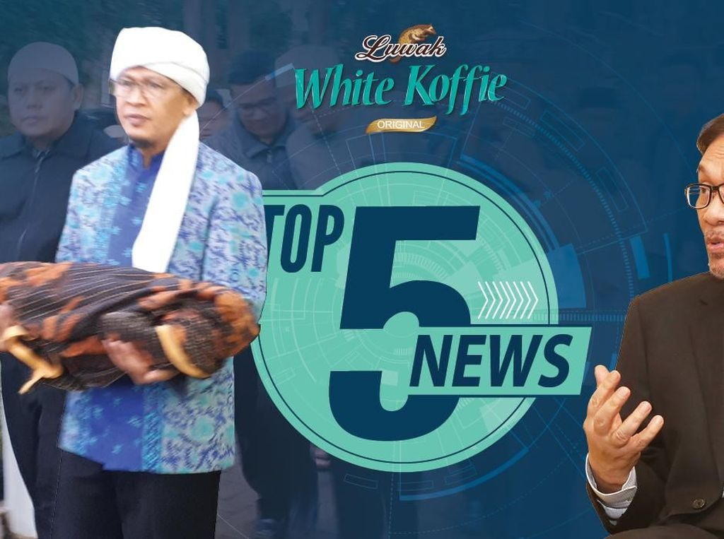 Cucu Aa Gym Meninggal, Anwar Ibrahim Tak Dendam