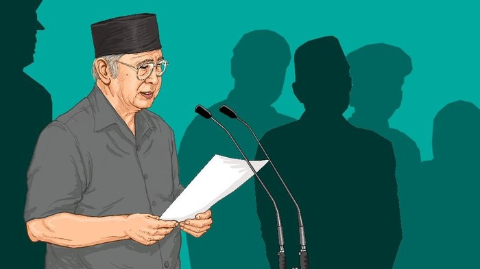 Pertanyaan tak Terjawab Habibie kepada Presiden Soeharto