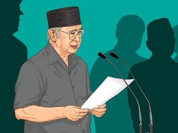 Dari Lawan Jadi Penulis Pidato Presiden Soeharto