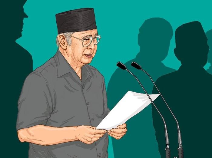Surat Putus untuk Presiden Soeharto