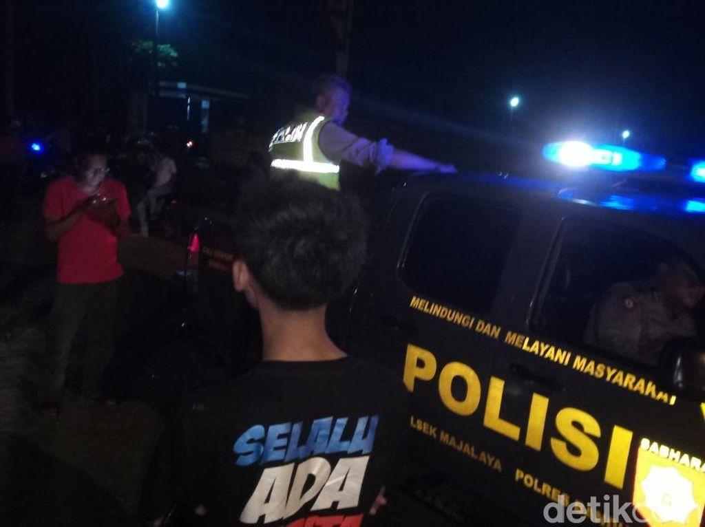 Satu Orang Tewas Balapan Liar di Jalan Anyar Majalaya Bandung