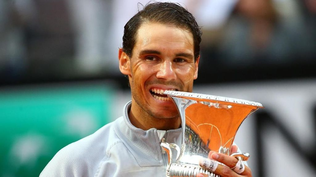 Kalahkan Zverev dalam Tiga Set, Nadal Juara