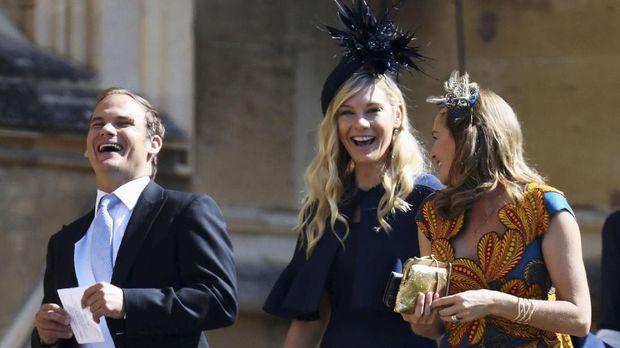 Gaya Para Mantan Pangeran Harry di Pesta Pernikahan