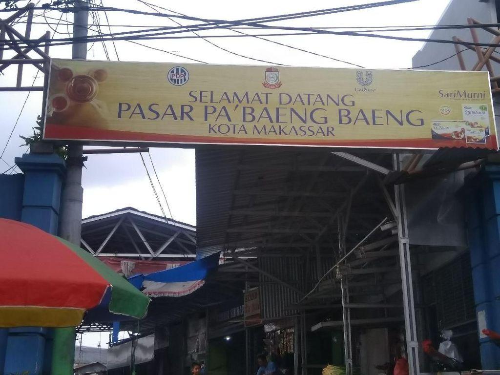 Foto: Ini Pasar di Makassar yang Dikorupsi Taufhan yang Kabur 4 Tahun
