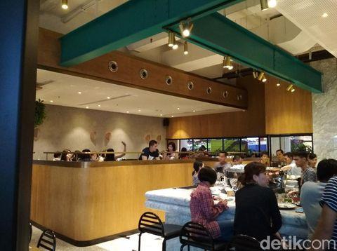 Restoran Sisterfield sekarang hadir di Jakarta, tepatnya Pantai Indah Kapuk.