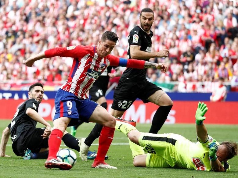 Fernando Torres Cetak Dua Gol di Laga Pamungkas dengan Atletico