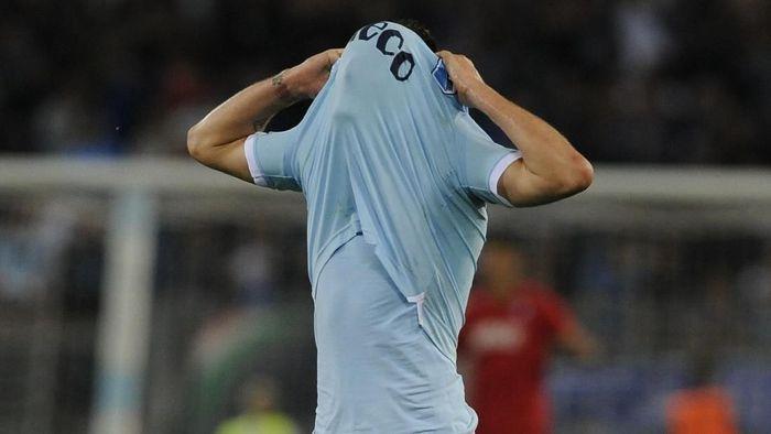 Lazio gagal ke Liga Champions setelah dikalahkan Inter Milan di pekan terakhir Serie A (Foto: Marco Rosi/Getty Images)