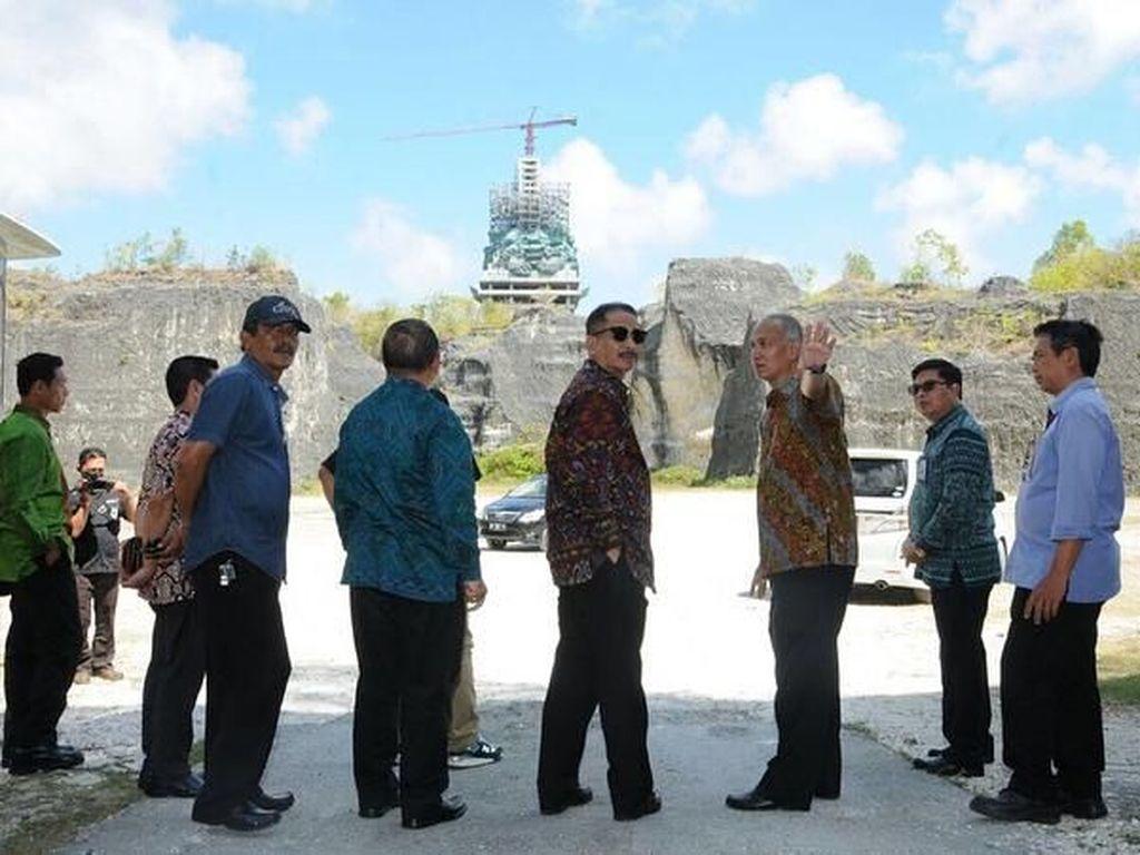 Menpar Sebut Patung GWK Akan Jadi Tertinggi Kedua Dunia