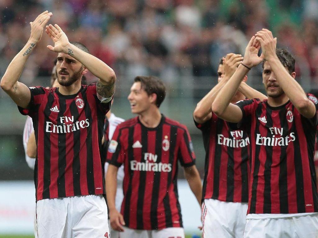 AC Milan Dicoret dari Kompetisi Eropa