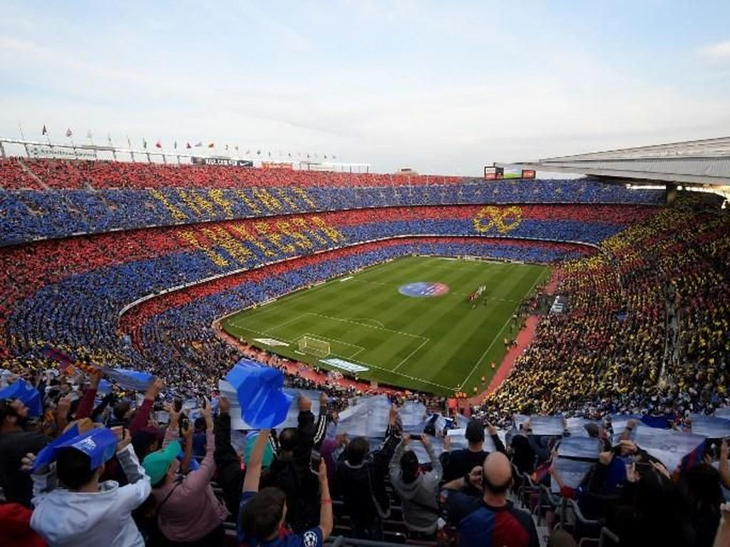 Langkah New Normal Barcelona: Hadirkan Fans Virtual di Camp Nou