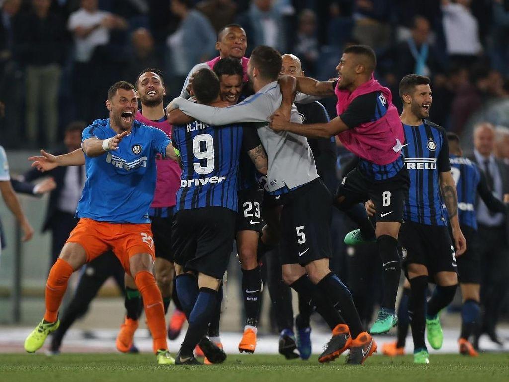 Video Inter Kantongi Tiket Liga Champions
