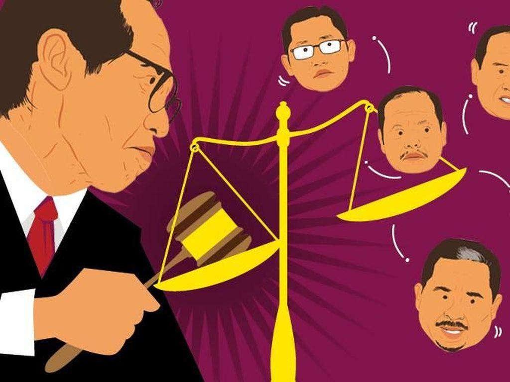 Artidjo Alkostar Sang Penggembala Keadilan