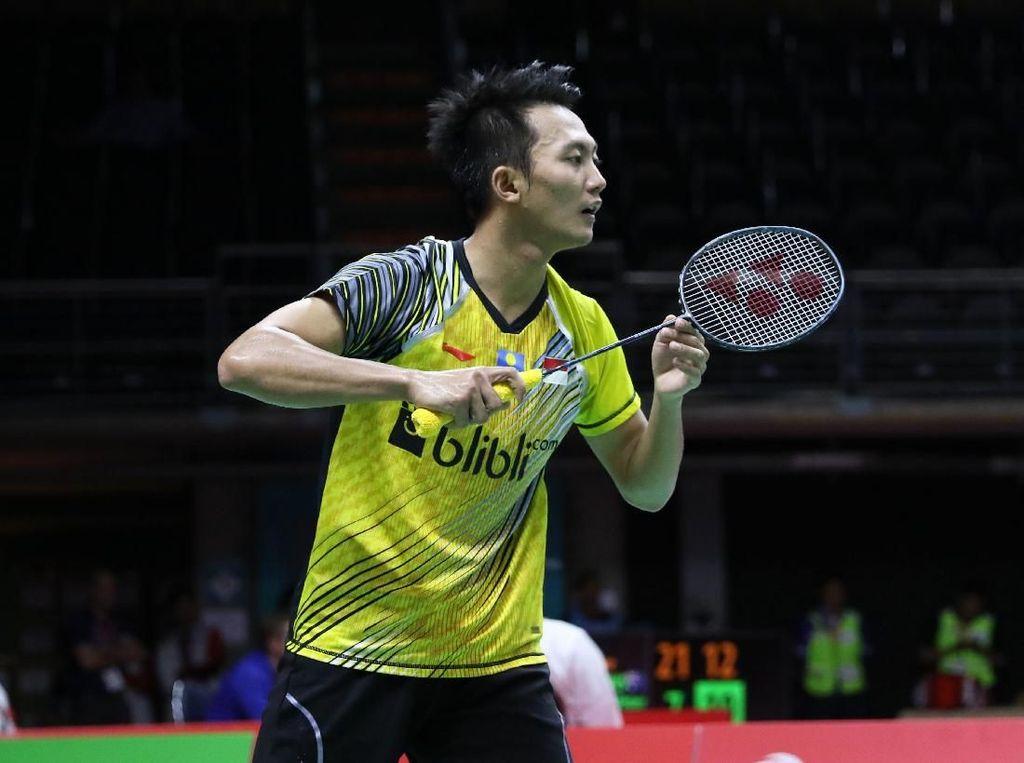 Demam, Ihsan Mundur dari Indonesia Masters 2019