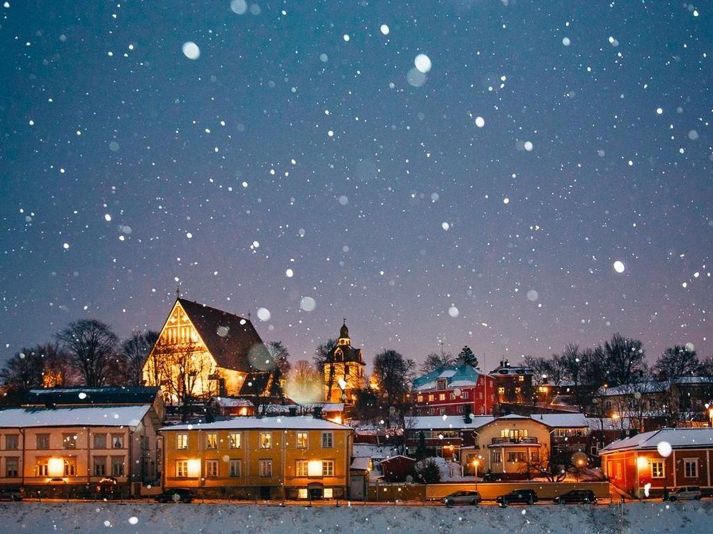 Foto: Finlandia, Si Negara Paling Aman dan Bahagia
