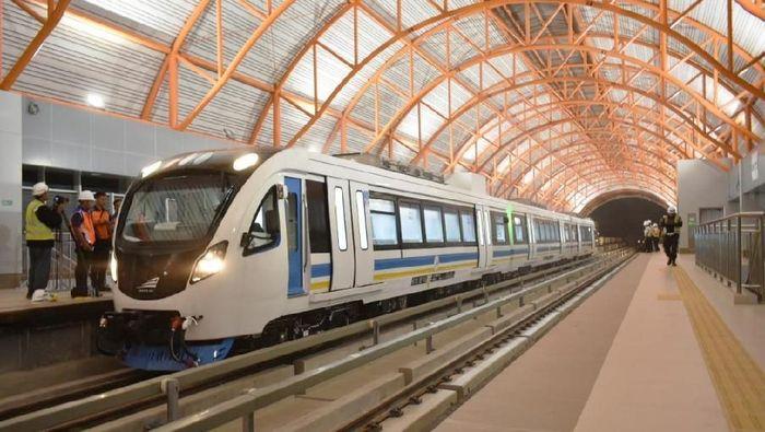 Pembangunan LRT Palembang Lebih Murah dari Malaysia dan Filipina