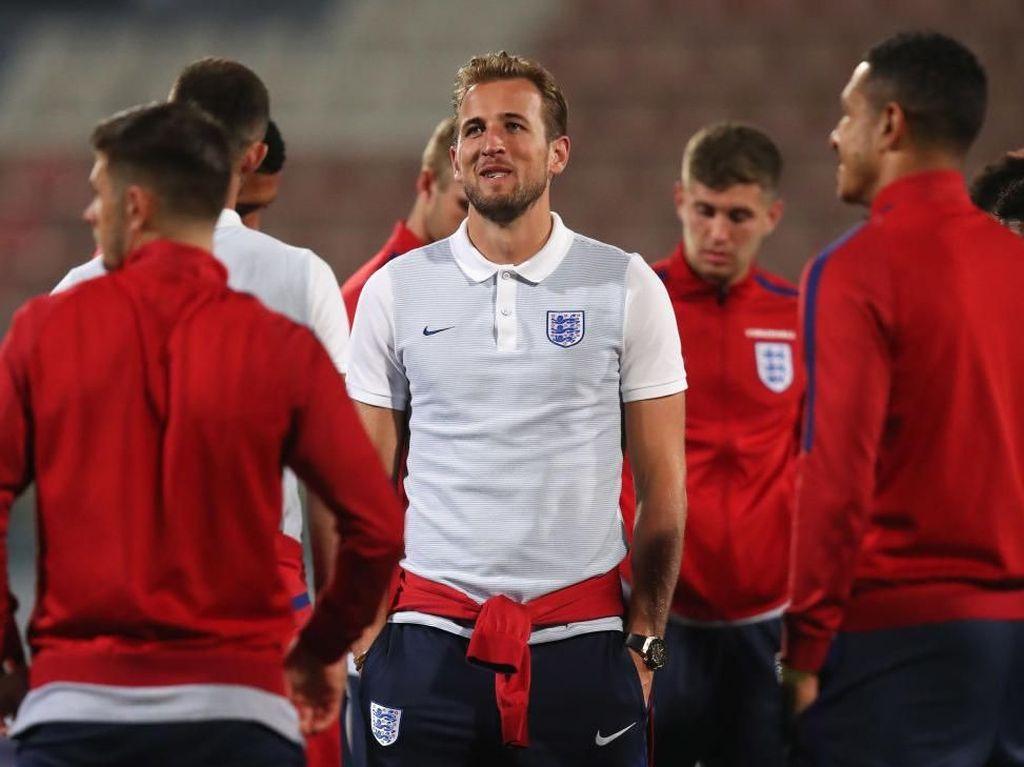 Harry Kane Jadi Kapten Inggris di Piala Dunia 2018