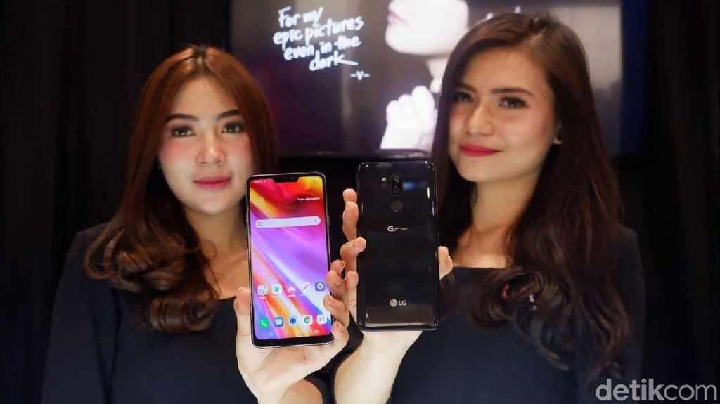 Melirik Si Cantik LG G7+ ThinQ