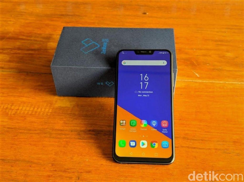 Zenfone 6 Usung Tiga Kamera Belakang dan Notch Unik