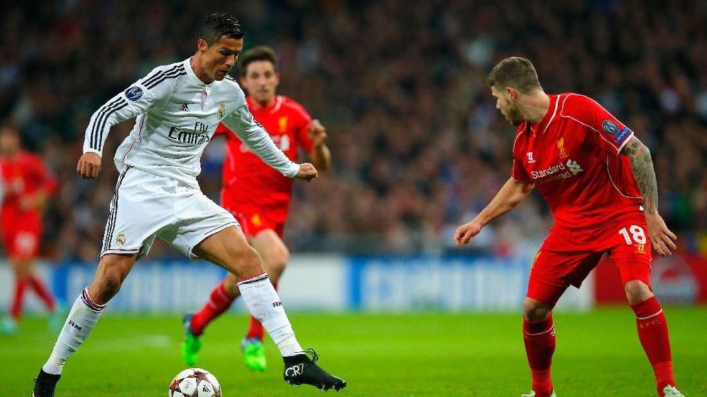 Final Liga Champions: Madrid Jago Umpan Silang, Liverpool Lihai Dribel