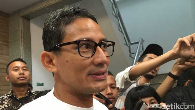PDIP Geruduk Radar Bogor, Sandiaga Bandingkan dengan Prabowo