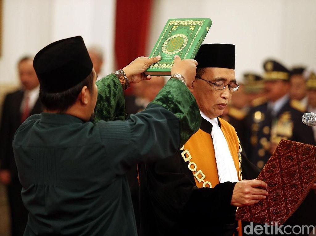Sunarto Jadi Wakil Ketua MA