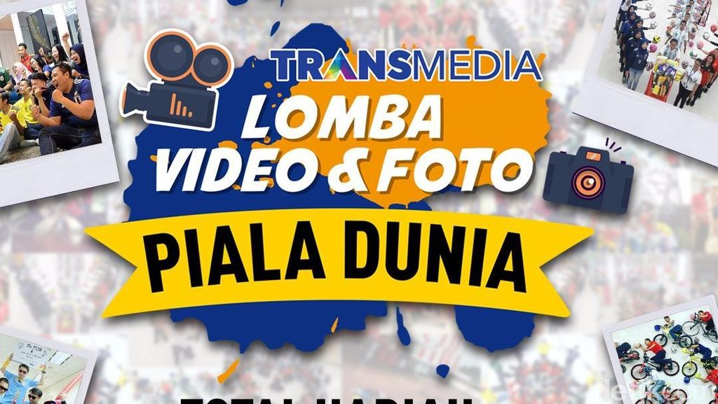 Yuk, Ikuti Lomba Foto dan Video Piala Dunia 2018 Transmedia