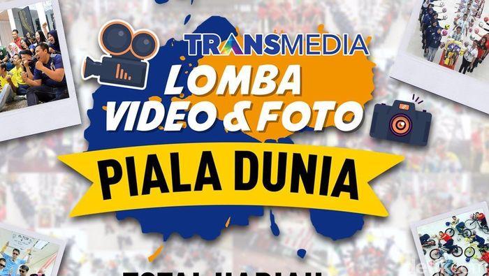 Transmedia menggelar lomba video dan foto bertema Piala Dunia 2018 dengan total hadiah mencapai ratusan juta rupiah. (Foto: Dok. Transmedia)