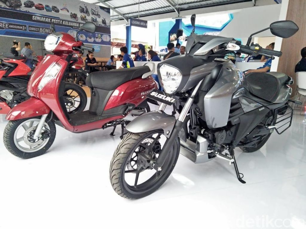 Wah, Ada 2 Motor Suzuki yang Bikin Pangling, Motor Apa Ya?