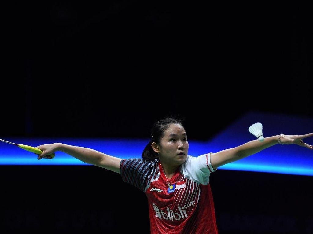 Ruselli Kalah, Indonesia Terhenti di Perempatfinal Piala Uber 2018