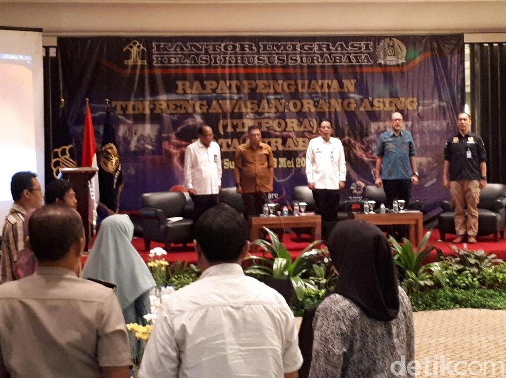 5 Bulan, 22 WNA di Deportasi Imigrasi Kelas I Surabaya