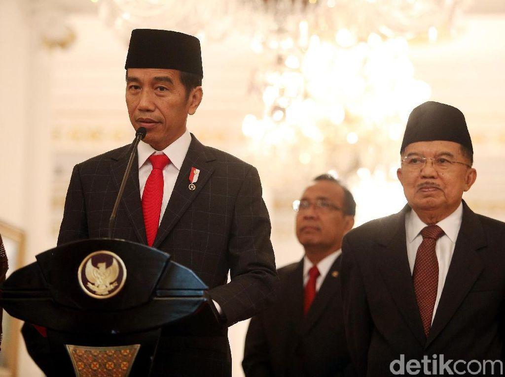 Darmin hingga Sri Mulyani Bertemu Jokowi Bahas APBN
