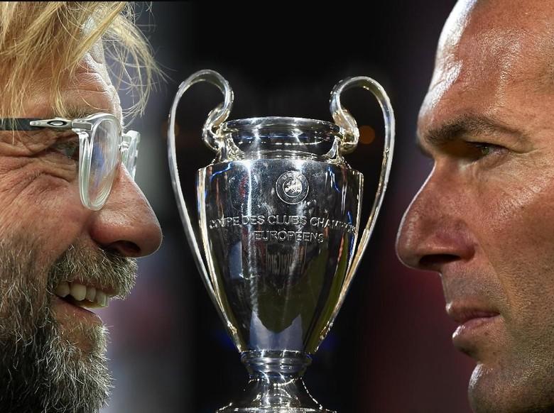 Zinedine Yazid Zidane vs Juergen Norbert Klopp