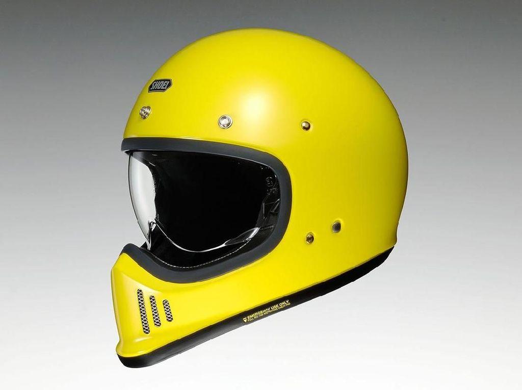 Shoei Kenalkan Helm Berdesain Jadul, Mau?